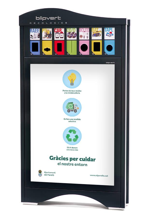 Kaipi Marketing Implementaciones punto de reciclaje