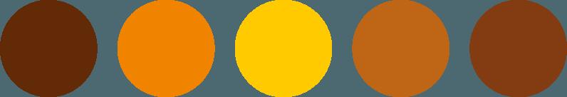 Kaipi Marketing paleta de colores marca turística