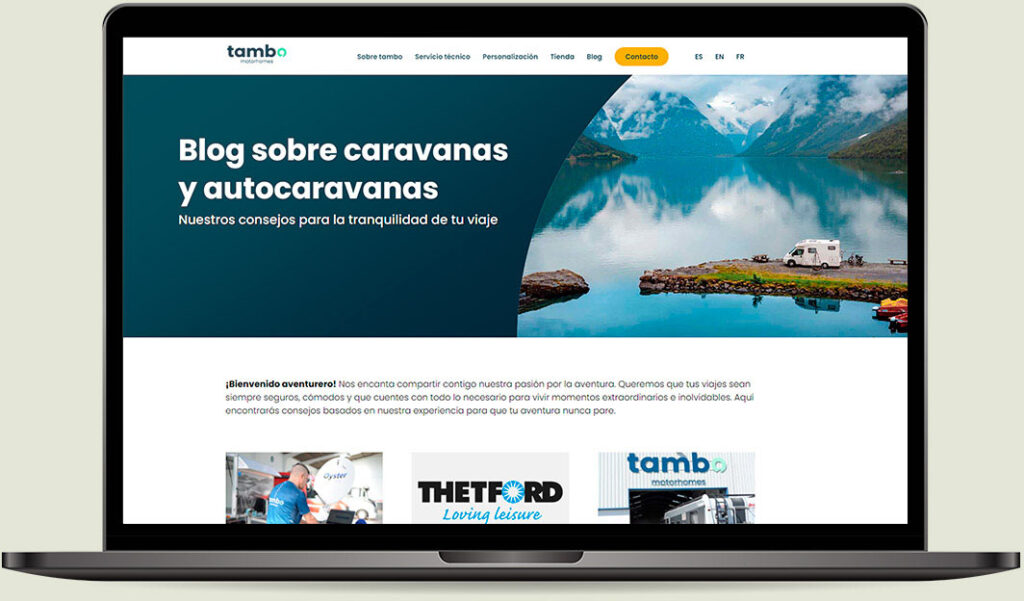 Mockup Blog autocaravanas Tambo