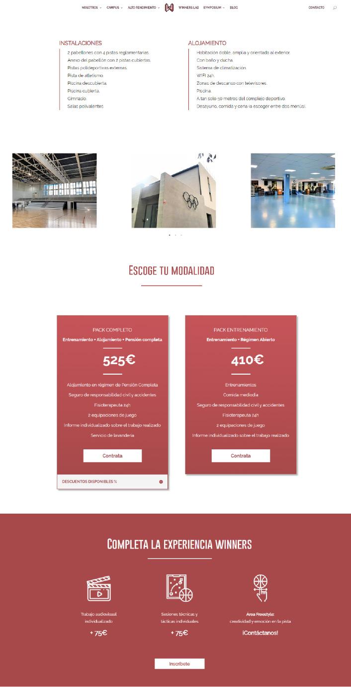Winners arquitectura