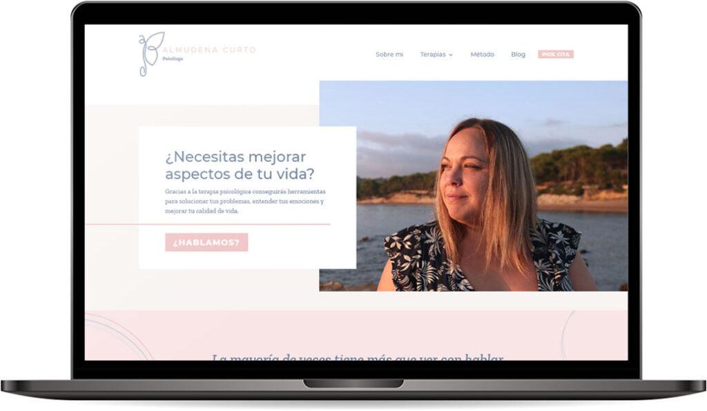 Web Business de Almudena Curto